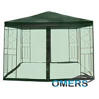 Шатер садовый павильон Полиэстер с москитной сеткой 3м *3 м, фото 1