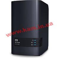 Сетевое хранилище WD My Cloud EX2 Ultra 2х3,5' (WDBVBZ0000NCH-EESN)