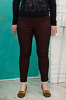 """Брюки """"Modessta"""" джинсовые бордо оптом от производителя"""