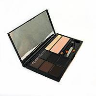 Набор для бровей (тени,воск, хайлайтер,карандаш,кисточки) BrowArtistry Palette M478/03 Malva Cosmetics