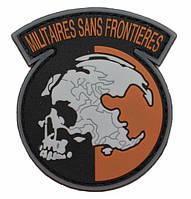 Патч ПХВ на липучке Militares