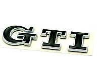 Эмблема кузова VW GTI чёрная