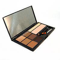 Набор для бровей (тени,воск, хайлайтер,карандаш,кисточки) BrowArtistry Palette M478/01 Malva Cosmetics