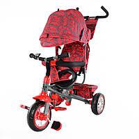 Детский трехколесный велосипед  T-341-2 красный
