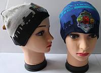 Детская шапка оптом  52 - 54  размер