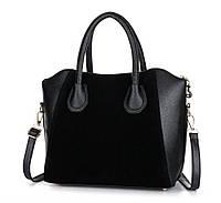 Практичная женская сумка с ручками