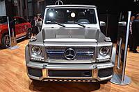 Накладки на бампер Mercedes G-Сlass W463 Brabus
