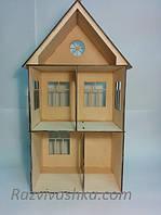 """Двухэтажный домик для кукол """"Глория""""  (без мебели) Pony, Winx (mini), Steffi, Evi (15 см), фото 1"""