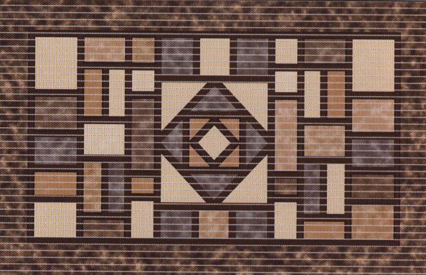 Уникальный и оригинальный коврик для кухни, коридора, ванной комнаты, ширина  80 см, Новинка!!!
