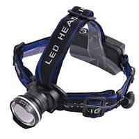 Ультрафиолетовый налобный фонарь XQ24-UV, 365 nm