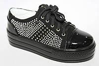 Детские туфли(слипоны )для девочек ТМ B&G  (разм. с 33 по 38)