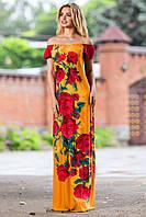 """Роскошное летнее женское платье  """"Леди-цветок"""" РАЗНЫЕ ЦВЕТА!"""