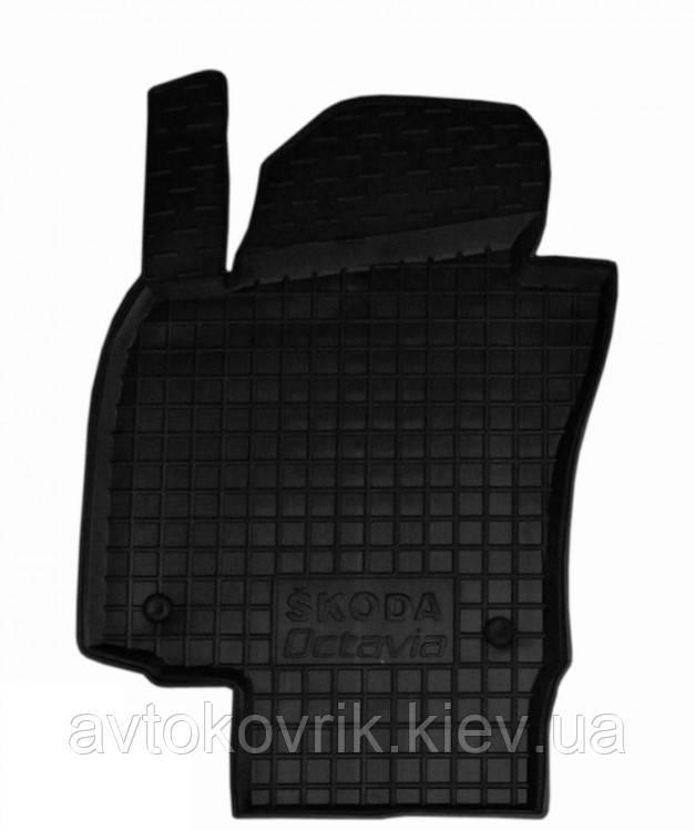 Полиуретановый водительский коврик в салон Skoda Octavia II (A5) 2004-2013 (AVTO-GUMM)