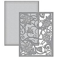 Нож для вырубки Spellbinders Acanthus Leaf Card Front Фоновый (813233021755)