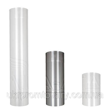 Труба дымохода Ф120 0,5м Сталь усиленная AiSi304 0,8мм, фото 2