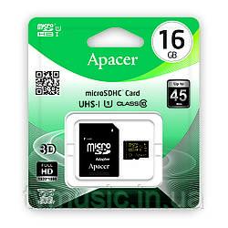 Карта памяти Apacer microSDHC UHS-I 16GB Class 10