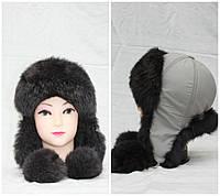 Детская зимняя шапка из кролика, ушанка, от производителя, разные цвета