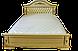 Кровать двуспальная Корадо (орех), фото 4