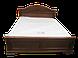 Кровать двуспальная Корадо (орех), фото 5