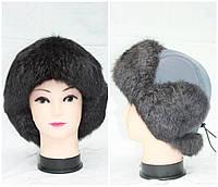 Детская меховая шапка из кролика, мальчик,ушанка, от производителя, разные цвета