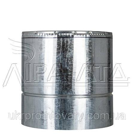Труба термо 0,25м Ф120/180 нерж/оц Сталь усиленная AiSi304 1,0мм, фото 2