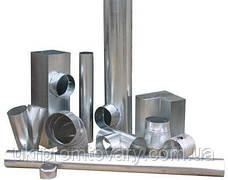 Труба термо 0,5м Ф150/220 нерж/оц Сталь усиленная AiSi321 1,0мм, фото 2