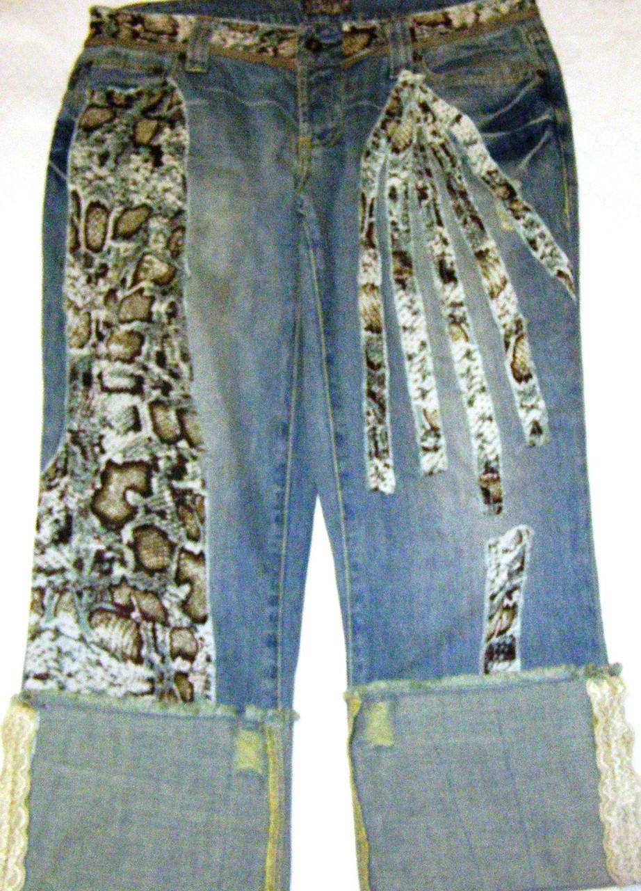 Бриджи джинсовые Diva, р. L