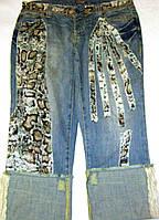 Бриджи джинсовые Diva, р. L, фото 1