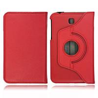 Красный чехол для Galaxy Tab 3 7.0 SM-T2100  на поворотном кольце, фото 1