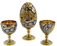 Пасхальное яйцо -рюмка. VIP подарок на Пасху., фото 1