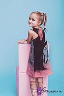Детский модный комплект из двух платьев качественного кроя 1602/49 ЮГ, фото 1