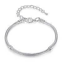 Браслет серебро 925 Капля, фото 1