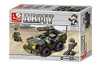 """Конструктор типа лего """"Армия"""" (102 детали), ТМ SLUBAN,  M38-B5800"""
