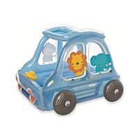 """Надувной детский игровой центр """"Машина со зверятами"""" Intex 48661"""
