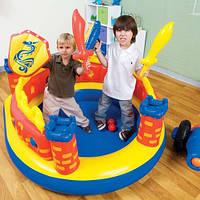 """Надувной детский игровой центр Замок """"Пираты"""" Intex 48666"""