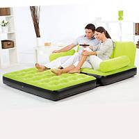 Надувной диван - трансформер BestWay 67356 с насосом