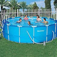 Каркасный бассейн BestWay 56100 (457х122 см)
