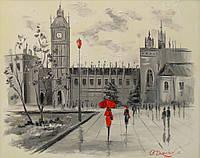 «Лондон»  картина маслом