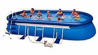 Каркасный бассейн Овальный Intex 57982 (610х366х122 см)
