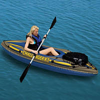 "Надувная лодка - байдарка Intex Challenger K1 ""Kayak"" 68305"