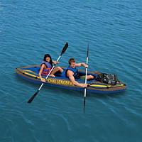 "Надувная лодка - байдарка Intex Challenger K2 ""Kayak"" 68306"