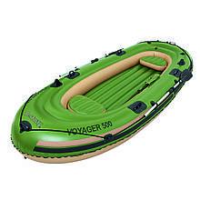 Надувная лодка трёхместная Voyager 500 Bestway 65001