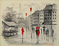 «Париж» картина маслом