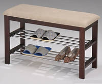 """Полка-скамейка для обуви """"SR-0628"""" (коричневая)"""
