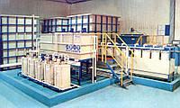 Комплекс оборудования для очистки сточных вод гальванического производства