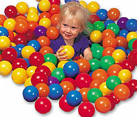 Мячики для сухого бассейна 8 см (100 шт) Intex 49600