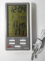 Влагомер для инкубатора, термометр, часы DC-802