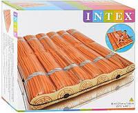 Надувной матрас Intex Log Jam Raft 58830 в стиле деревянного плота