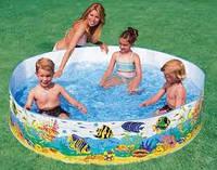 Каркасный детский бассейн в дом Intex 58461