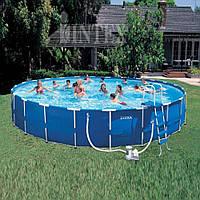 Каркасный бассейн в дом Intex 28262 (54948)